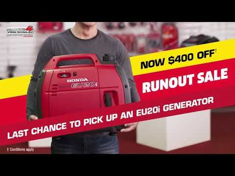 Eu20i Runout Sale Honda Generator Generation Sale
