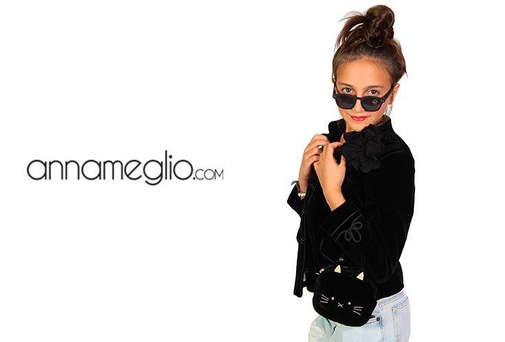 MODELLI PER UN GIORNO: La splendida Fabiana indossa la meravigliosa giacca by Bonpoint #annameglio #annamegliopeople #bonpoint  #fashion #abbigliamentobambina