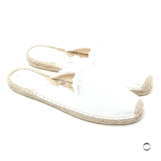 HZXINLIVE Street Style Embroidery Rose Canvas Espadrilles Mules Women Comfortabl…