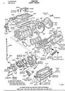 Ford 460 Parts Diagram