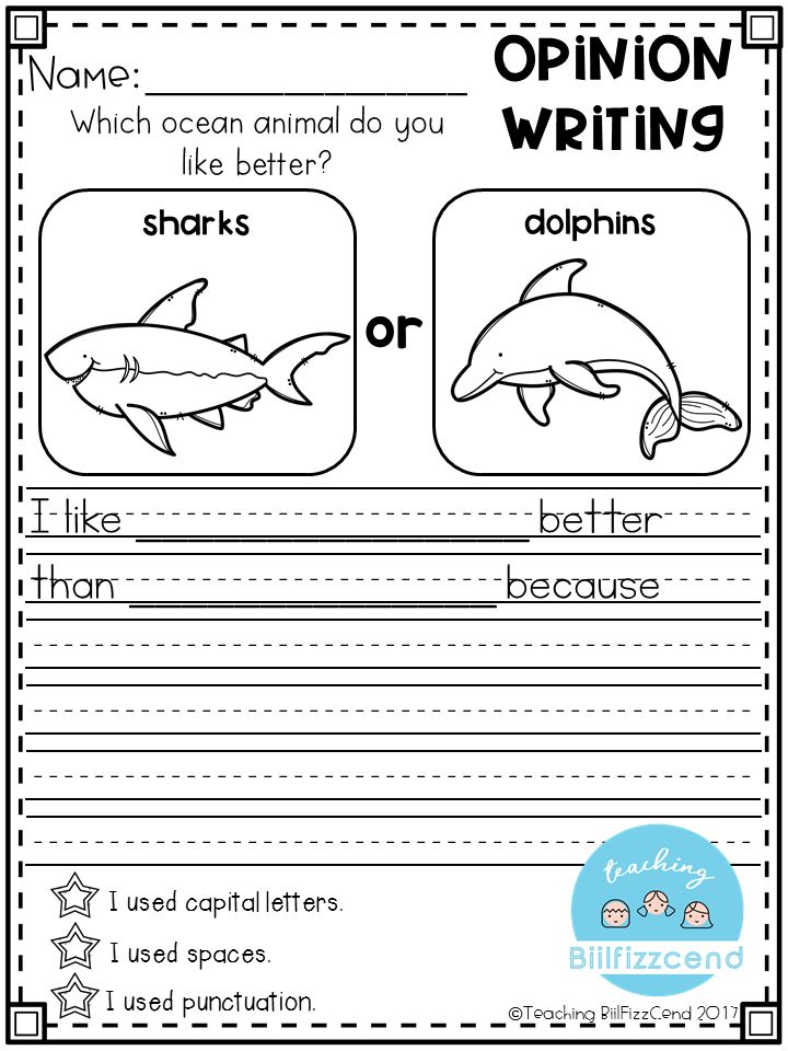 picture writing prompts for kindergarten