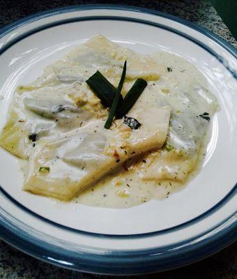 Pansotti rellenos de Espinaca y Ricota The Foodies - Críticos de Restaurantes G&G: