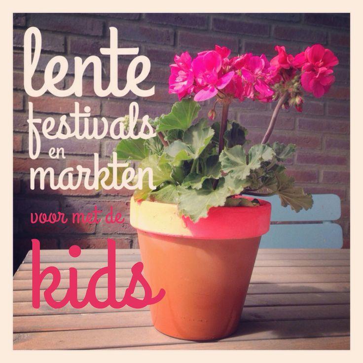 De leukste festivals en markten in de lente voor met de kinderen #leukmetkids #festival #lente