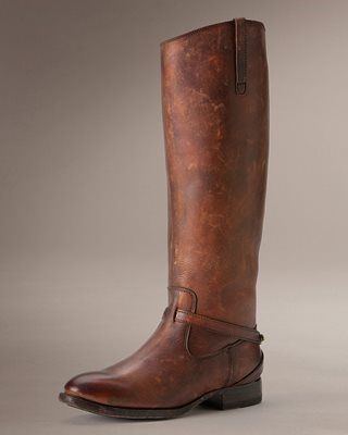 Frye Lindsay Plate Riding Boot.  The essential  equestrian boot.