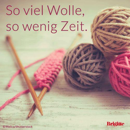 So viel Wolle, so wenig Zeit.  #Stricken