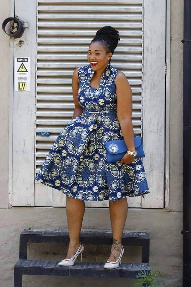 Sexy and hot ankara styles of 2018 for big and beautiful plus size ladies, ankara styles to hide your big tummy #ankarastyles #ankarcollections #womenfashion #plussizefashion #plussize #plussizedress #plussizemodel
