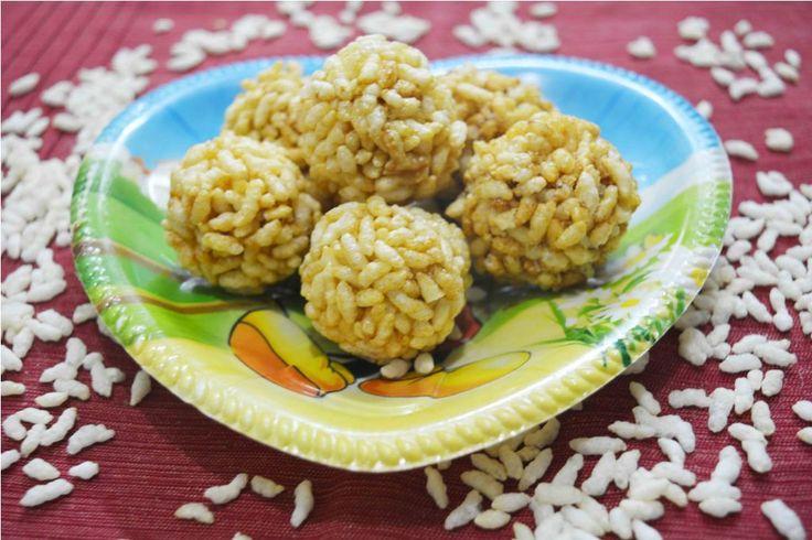 Puffed Rice Balls/How to make Marunda Never too old to enjoy marunda...yum yum.. #bachpan #kidsfavorite #munchingtime #healthy #snack #puffedrice #quickandeasy #delicious Recipe at: www.annapurnaz.in