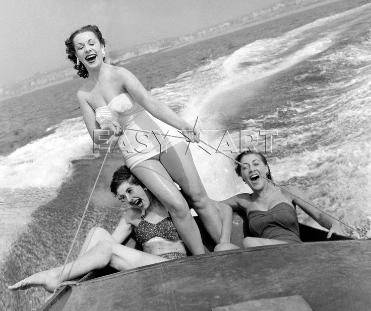 Speedboat at Brighton, 1954