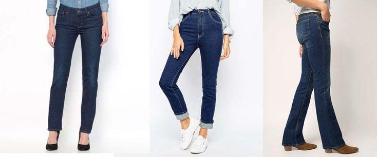 jeans 8 - Vous êtes pulpeuse, le jean qui honore votre silhouette est le jean droit taille haute. Il vous donnera un petit coté pin-up ou Marylin très féminin. Vous pouvez aussi le choisir bootcut avec une petite hauteur de talon (4 à 6 cm).  Évitez : le skiny trop moulant pour vos formes. Votre jean saura les suggérer sans tout montrer.
