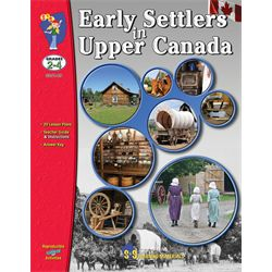 Grade 4  Early settlers in Upper Canada Overall Expectation A2: investigate ways of life and relationships with the environment in two of more early societies (3000 BCE–1500 CE), with an emphasis on aspects of the interrelationship between the environment and life in those societies