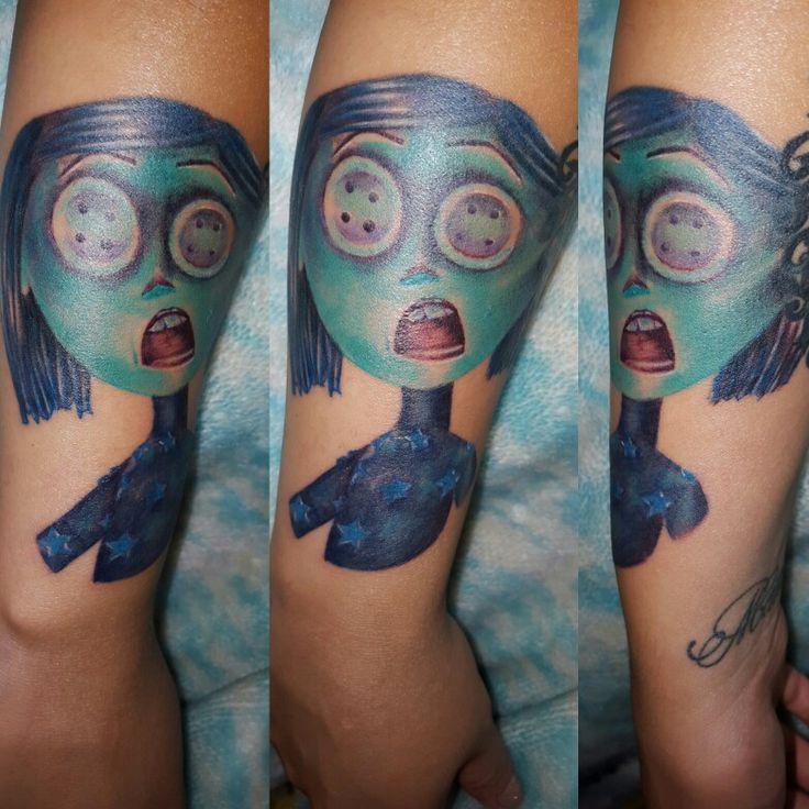 Coraline tattoo