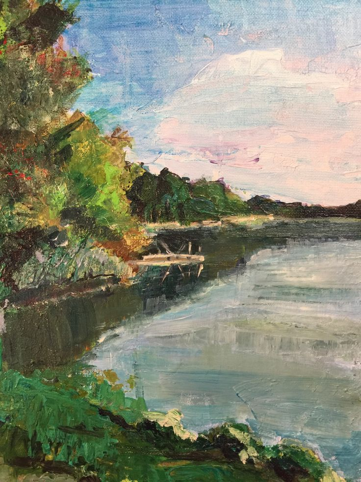 Review Serenity at Autumns Start · SerenityLake PaintingLakesAutumnPaintings Products Awesome - Simple Elegant lake painting Luxury