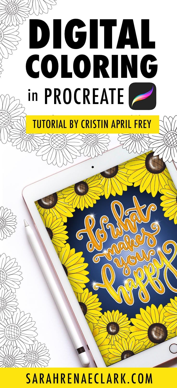 Digital Coloring In The Procreate App Adult Coloring Tutorial With Images Coloring Tutorial Procreate Tutorial Procreate App Tutorial