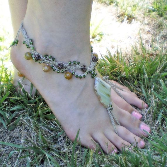 169 Best Images About Macrame Barefoot Sandals On
