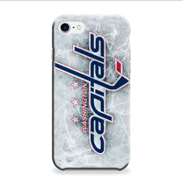 Washington Capitals Ice Logo iPhone 7 Plus 3D Case