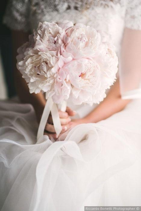 Bouquet Sposa Peonie.35 Decorazioni Con Peonie Per Delle Nozze A Tutto Romanticismo