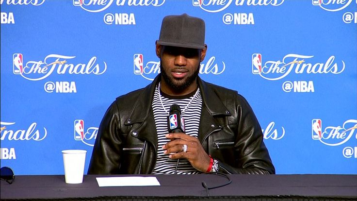 LeBron James NBA Finals Game 3 Press Conference