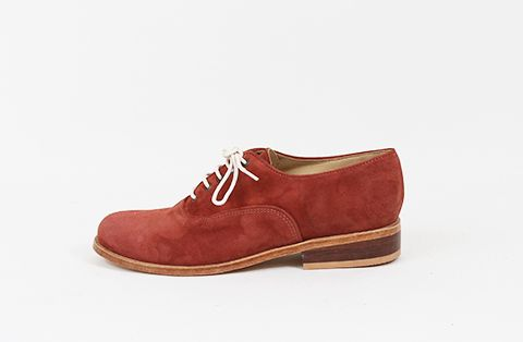 &Attorney Moriati Laceup in Rust Suede