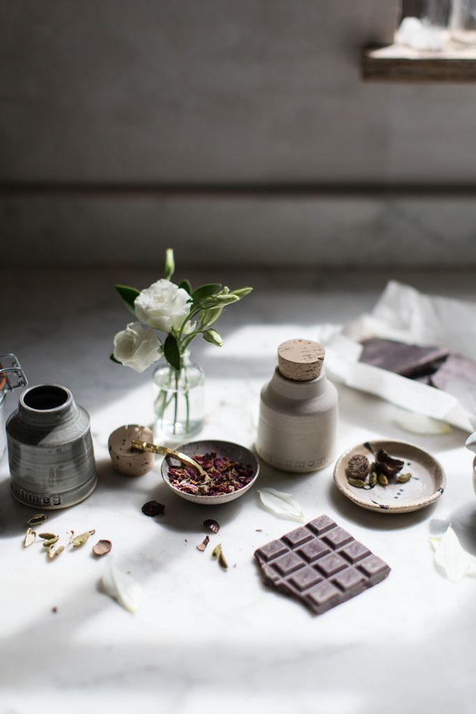 Local Milk | breakfast in bed | vegan rose + chocolate chip spelt waffles:
