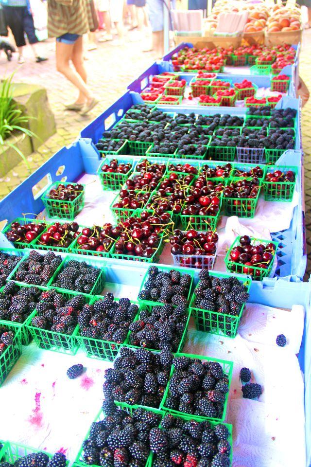 Charleston Farmer's Market, South Carolina.  Need to go every Saturday when I'm in Charleston!