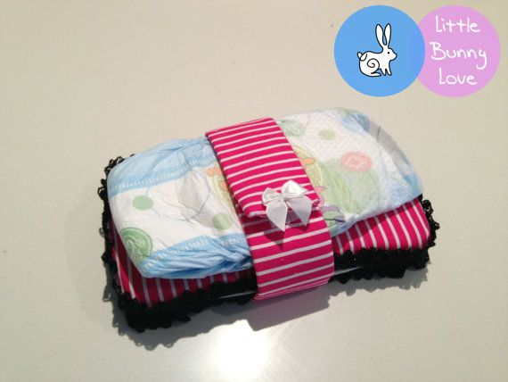 A Little Bunny Love Design Nappy/Diaper by LittleBunnyLoveShop, $6.00