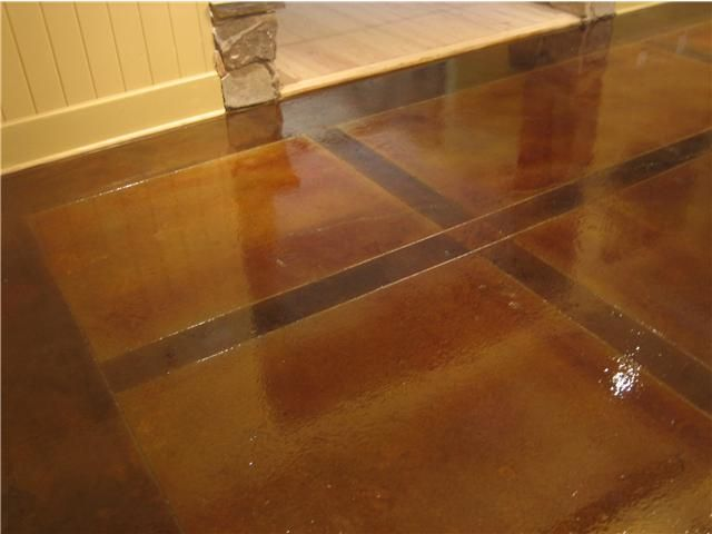 Elegant Sealing Basement Concrete Floor Hallway Ideas