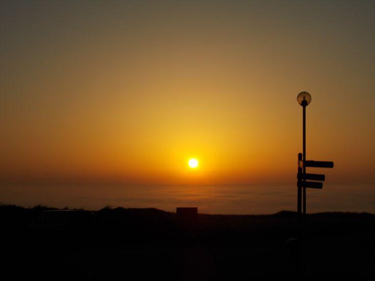 The misty Sea Sunset ♥