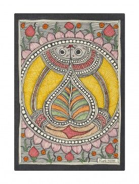 Fish Madhubani Painting