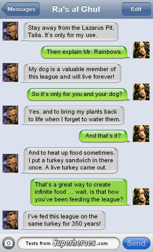 Texts From Superheroes. Love this! |Humor||Funny texts||DC humor|...