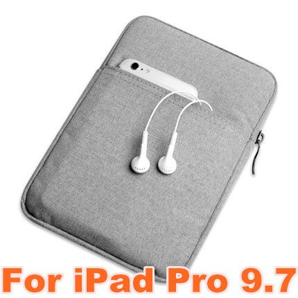 Nylon Shockproof Tablet Sleeve Pouch Bag Case for Apple iPad Mini 1 2 3 for iPad Air 2 for iPad Pro 9.7 Cover Case Capa Para