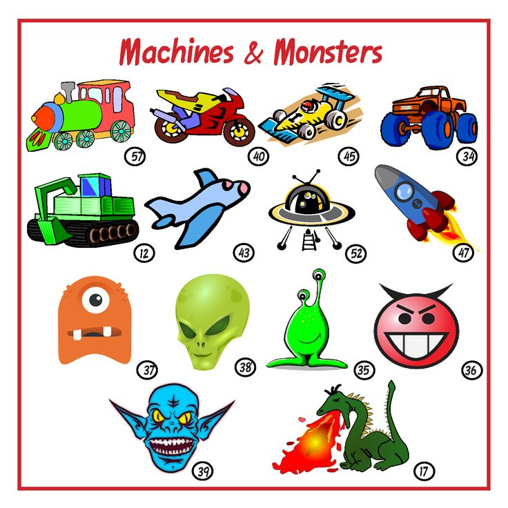 Machines & Monster images