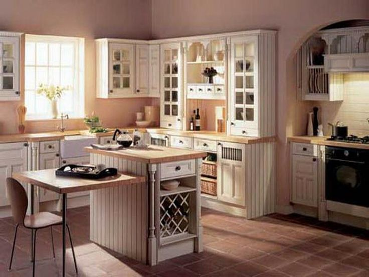 Best 25+ Country closed kitchens ideas that you will like on - small country kitchen ideas