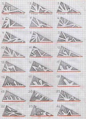 DIY: Models for paper snowflakes by marina.sadek