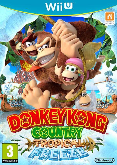 Donkey Kong Country : Tropical Freeze #WiiU