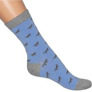 Bonnie Doon Horses Sock BN741103 blue horizon - BONNIE DOON - MERKEN
