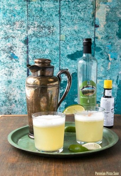 Peruvian Pisco Sour and 'Latin Twist' cocktail book