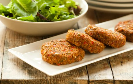 Quinoa and Sweet Potato Patties: 1/2 cup quinoa 1/2 cup sprouted Green