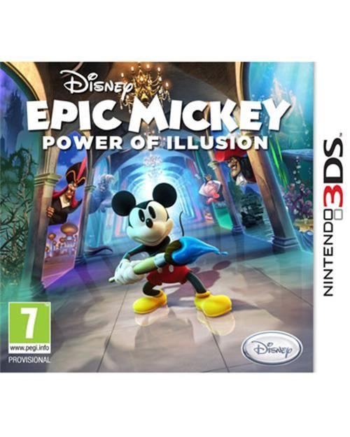 Epic Mickey: Power of Illusion. Número de préstamos: 19