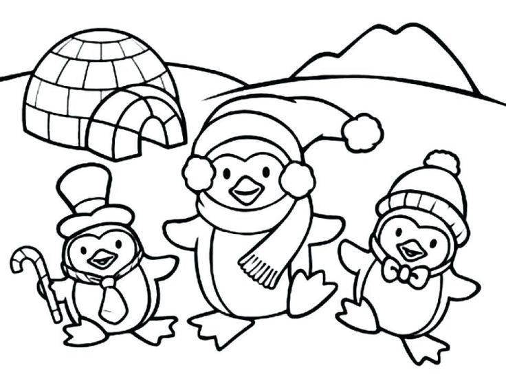 diy pinguin malvorlagen ideen für kinder  kostenlose