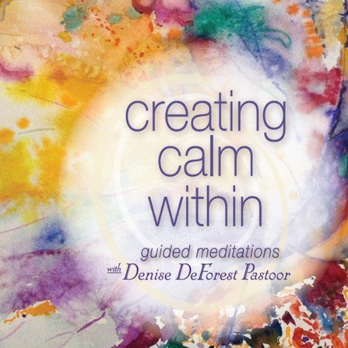 """I have to say that I dislike all the signs that begin with """"stay calm."""" This alludes to a sense of calm within that I am obviously not feeling at the moment. I prefer when it's worded as above """"create calm."""" I have to consciously create a calm within myself when it's not there!"""