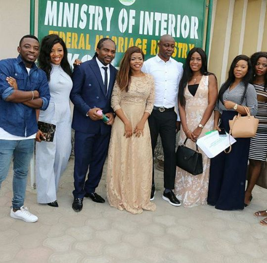 Phanney Diaries: LEGALLY HITCHED: LAURA IKEJI MARRIES HER BEAU OGBO...