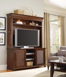 Up to 55in. Televisions - TV CONSOLES WITH HUTCHES - Home Entertainment Furniture - By Hooker Furniture