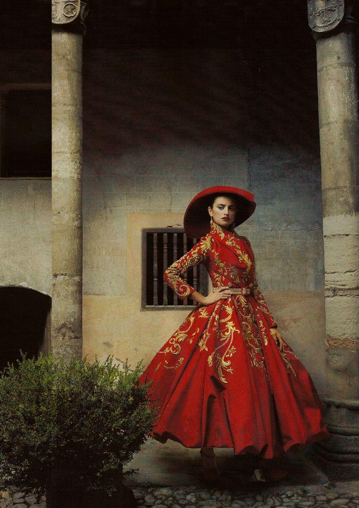 "Vogue ""Made in Spain"" photoshoot by Annie Leibovitz featuring Penélope Cruz"
