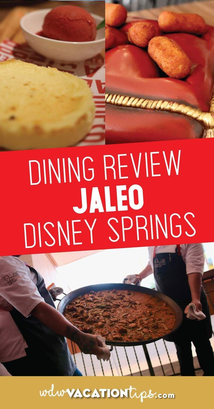Our Opinion On Dining At Jaleo In Disney Springs Jaleo Serves Up Authentic Spanish At Several Location Disney Dining Disney Menus Disney World Tips And Tricks