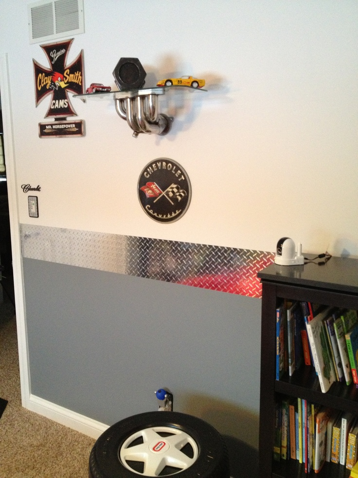 67 best images about my baby boy 39 s room on pinterest for Garage themed bedroom ideas