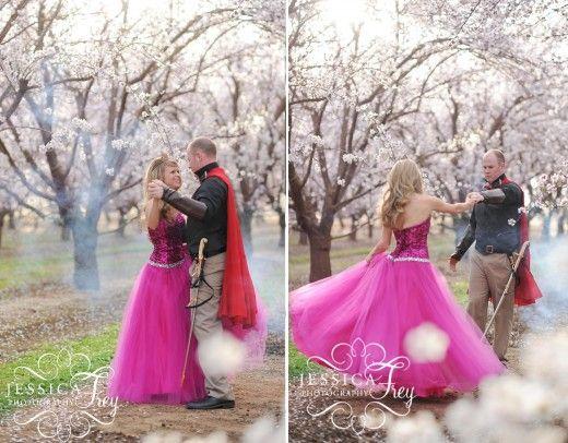 Sleeping Beauty inspired wedding.