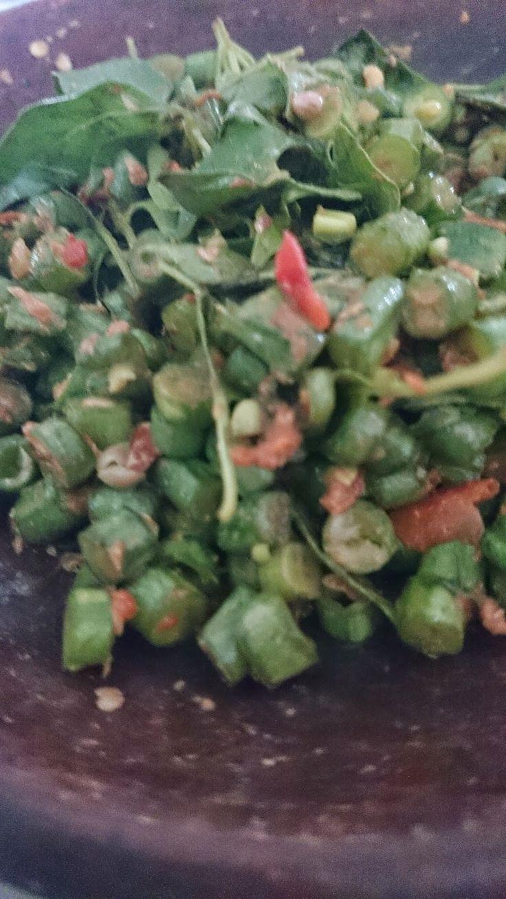 Rumah Makan DJOWO KLATEN: PENCOK KACANG