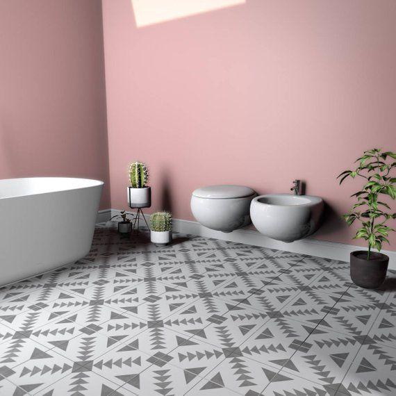 Granada Tile Decal Floor Tiles Floor Vinyl Vinyl Tile Etsy Tile Decals Tile Floor Vinyl Tile