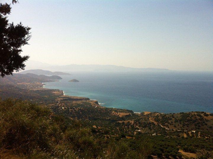 Mooi uitzicht, Kreta