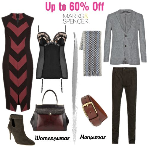 Up to 60% off at the Marks & Spencer Sale
